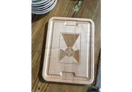Gary Kline Flag Cheese Tray