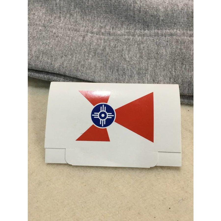 Wichita Flag Golf Tee Packet