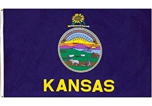 The Workroom Kansas Flag 3 x 5