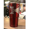 20 oz Wichita Flag Double Wall Tumbler With Vacuum Sealer