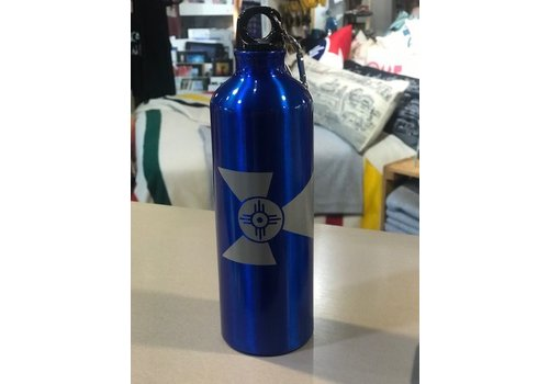 The Workroom 25 oz Wichita Flag Aluminum Alpine Sports Bottle