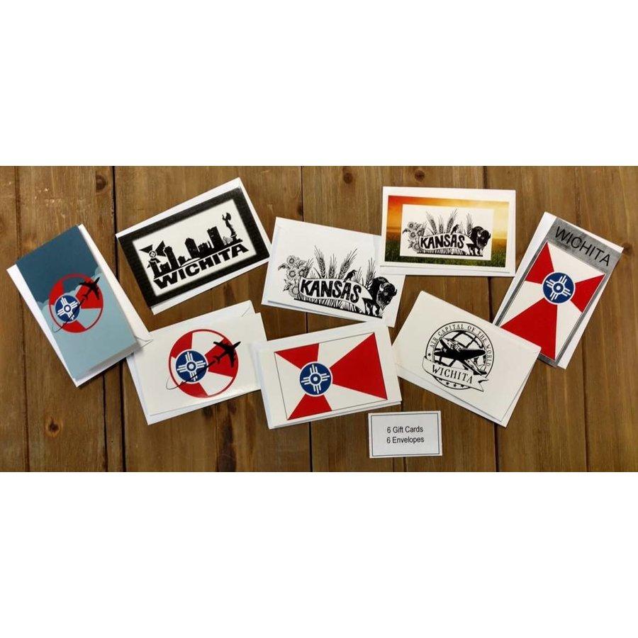 Gift Card Enclosure & Envelopes 6 pack