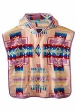 Pendleton Jacquard Hooded Towel- Pink