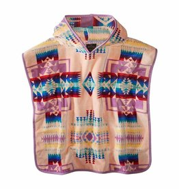 Pendleton Jacquard Hooded Towel- Pink