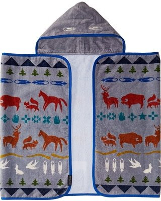 Pendleton Shared Paths Printed Hooded Baby Towel
