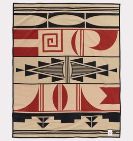 Pendleton AICF Unnapped Robe Blanket- Gift of the Earth Tan