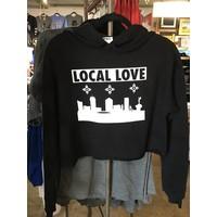 Liv+Work Local Love: Crop Hoodie