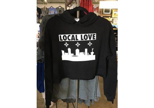 Liv+Work Liv+Work Local Love: Crop Hoodie