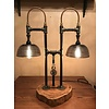 """The Woodcutter """"Turn me on"""" Steam Punk Lamp"""