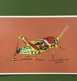Delilah Reed Grasshopper print