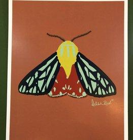 Delilah Reed Tiger Moth Print