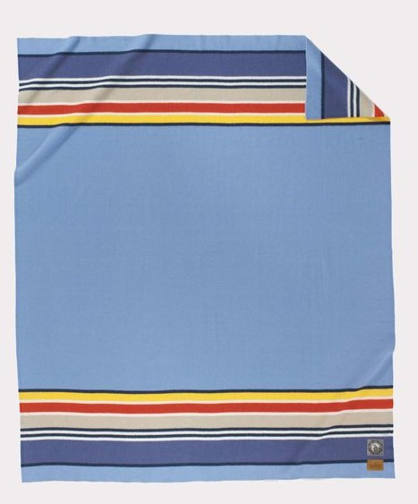 Pendleton Pendleton Yosemite Light Blue NP Full Blanket