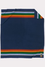 Pendleton National Park FL Bed Blanket Crater Lake Navy