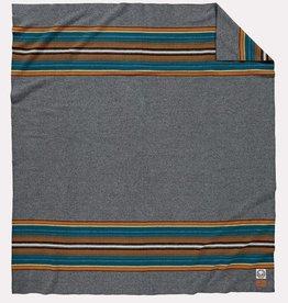 Pendleton National Park Olympic Grey  Full Camp Blanket