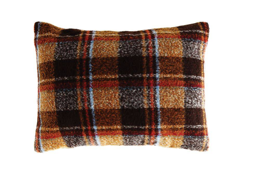 "Creativeco-op 24""L x 18""H Fabric Pillow, Multi Color Plaid w/insert"