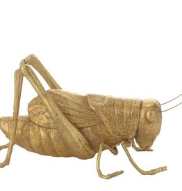Creativeco-op Resin Cricket, Gold Finish