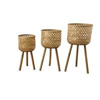 Medium Woven Bamboo Basket