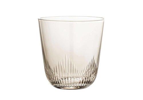 Bloomingville 12 oz. Drinking Glass, Smoke S/4