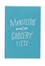 Easy, Tiger Flipbook- Manifestos