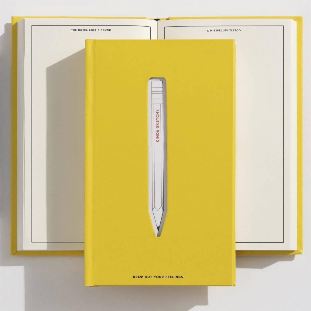 Easy, Tiger Kinda Sketchy Prompted Journal