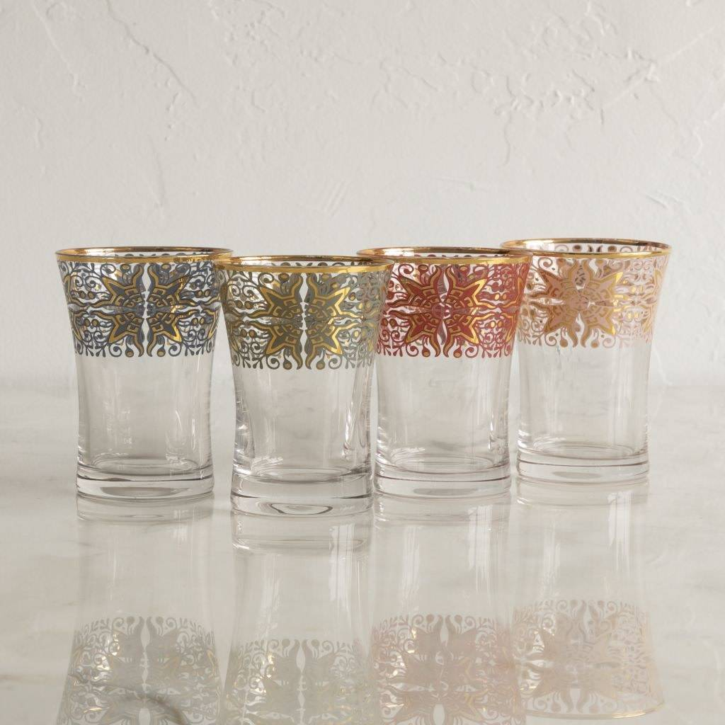 Floor 9 Boho Decal Glasses