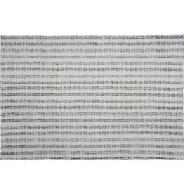 HomArt Block Print Rug Cotton Rug, 4x6 - Sawtooth Stripe