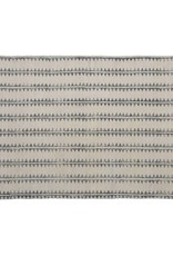 HomArt Block Print Rug Cotton Rug, 2x3 - Sawtooth Stripe