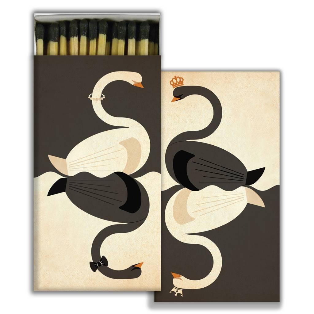 HomArt Swans - Black