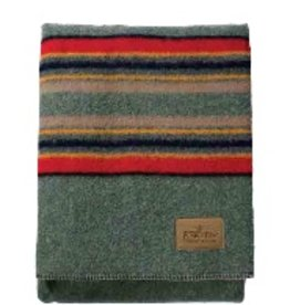 Pendleton Yakima Camp Blanket - Green Heather -Twin