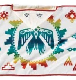 Pendleton Sunrise Eagle Printed Hooded Baby Towel