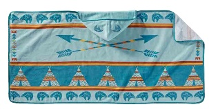 Pendleton Star Guardian Printed Hooded Baby Towel