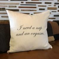 Stash Pillow