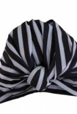 fe72a2a4a Louvelle DAHLIA shower cap in Monochrome Stripe