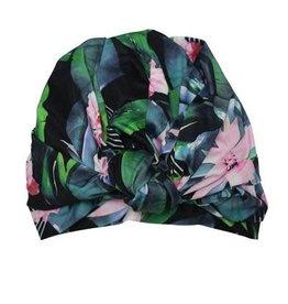 Louvelle DAHLIA shower cap in Hyper Paradise