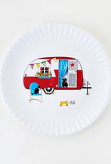 """Onehundred80degrees Summertime Camper Platter 16"""""""