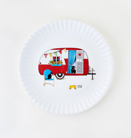 Onehundred80degrees Summertime Camper Platter 16""