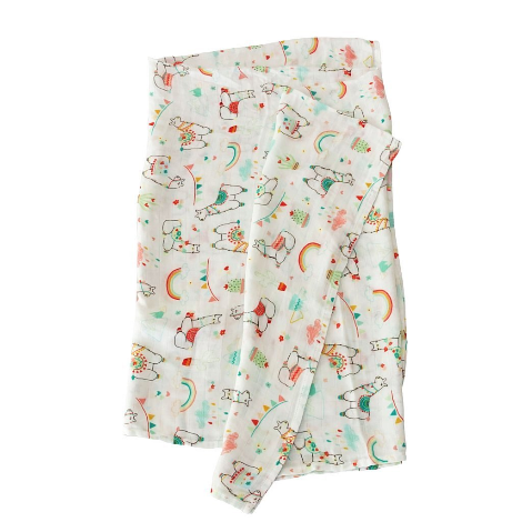 LouLou Lollipop Muslin Swaddle