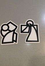 KANBEE.ART Kanbee.Art Stickers