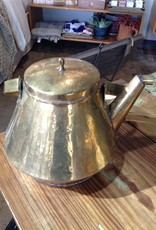 Vintage Vintage Brass Kettle France