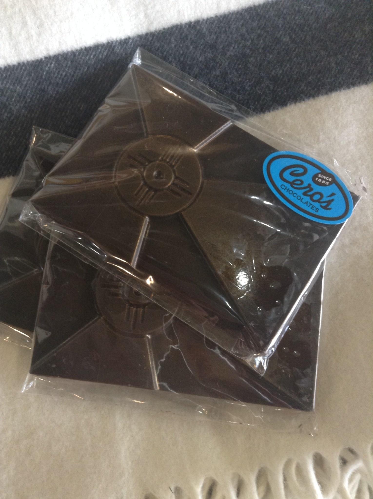Cero's Candies Dark Chocolate Wichita Flag