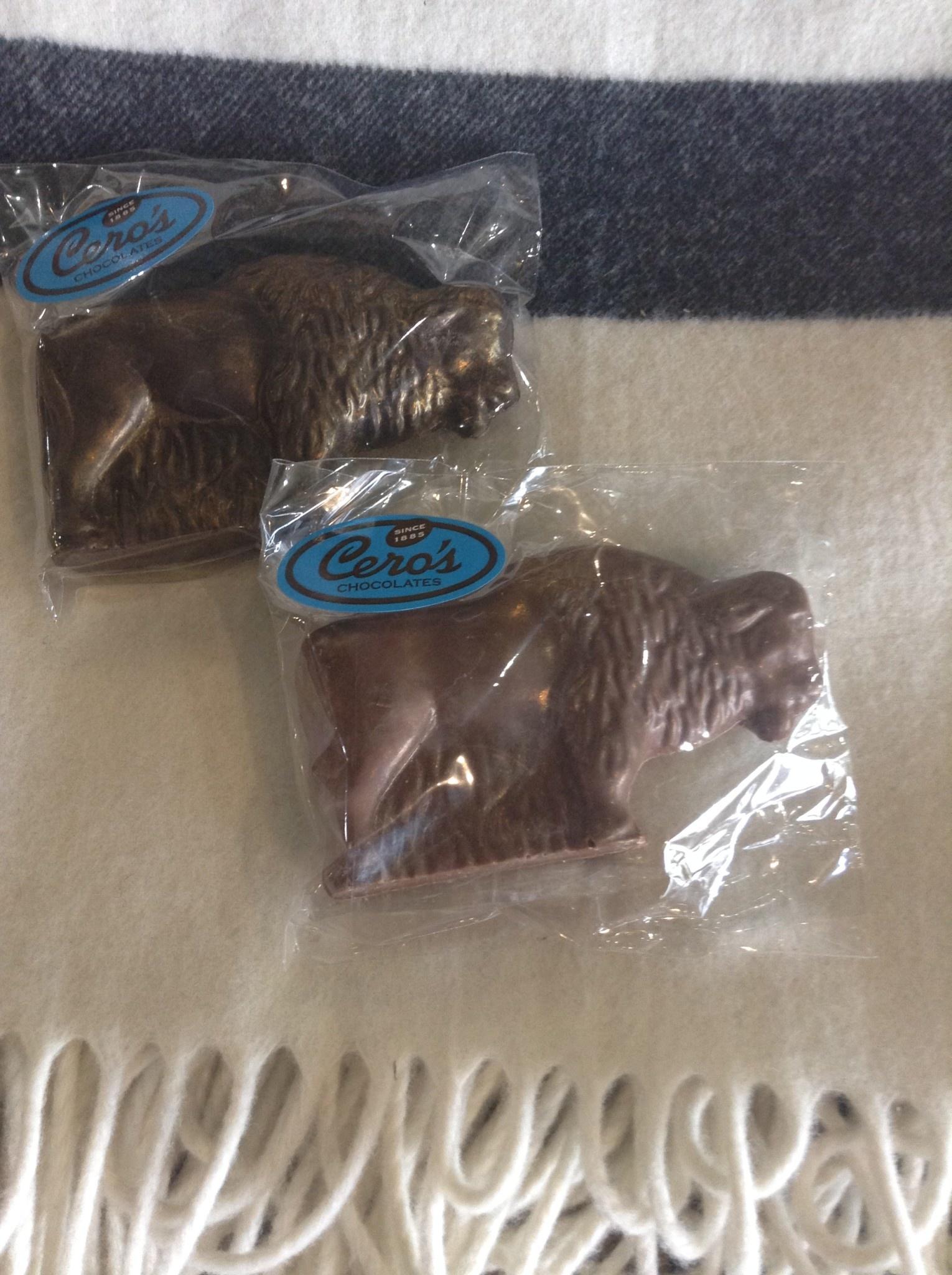 Cero's Candies Dark Chocolate Buffalo
