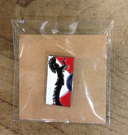 ICT Keepers Keeper/Flag  Lapel Pin
