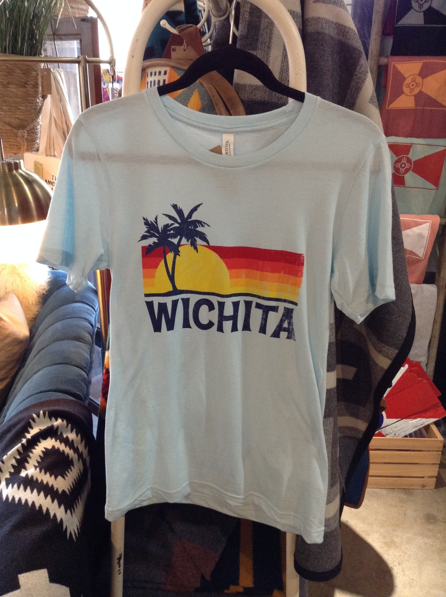 Trail Threads Wichita Palms Tee