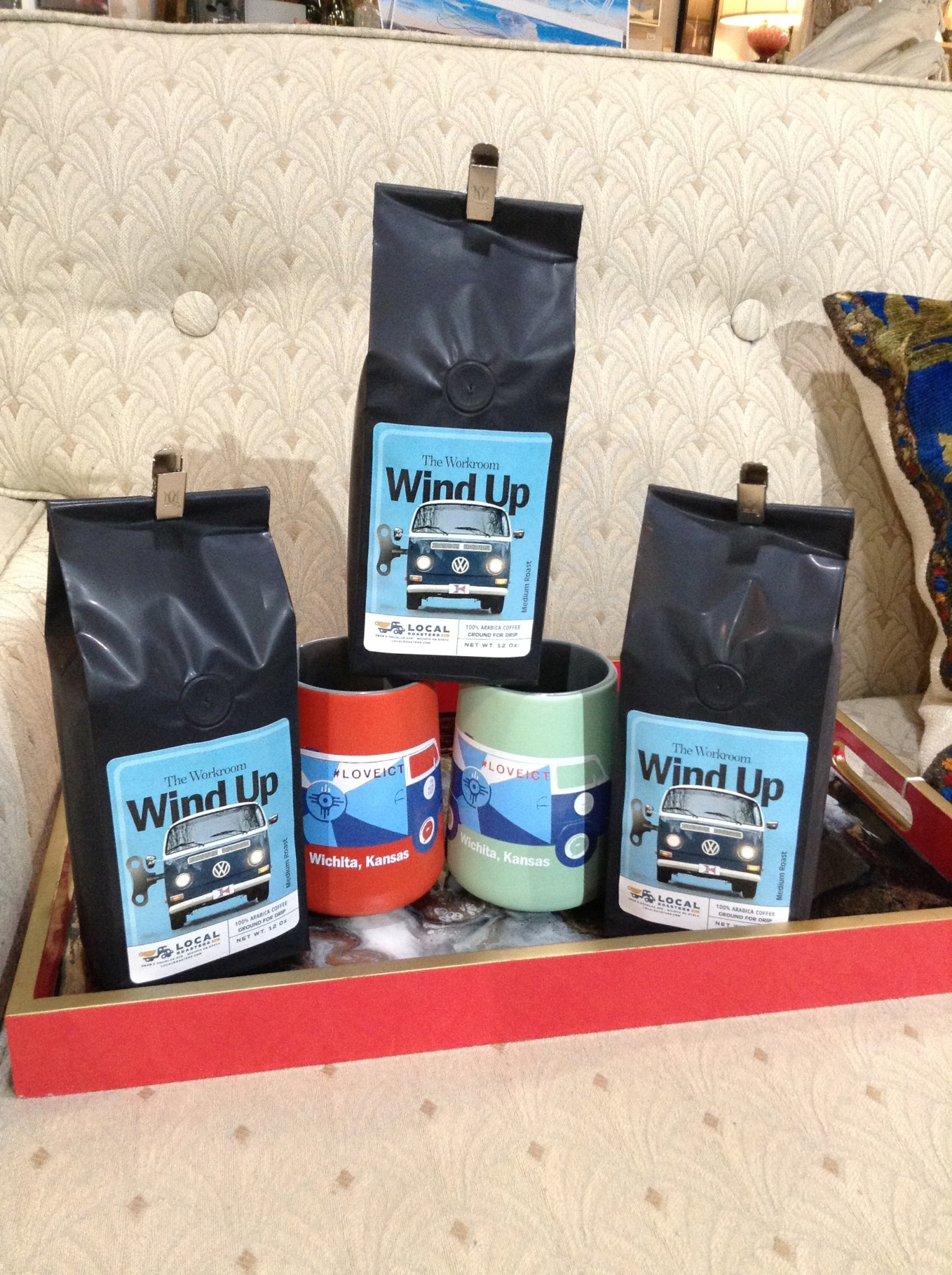 The Workroom Windup Coffee & Mug pack