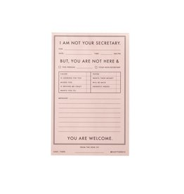 Easy, Tiger Secretary Tearoff Notepad