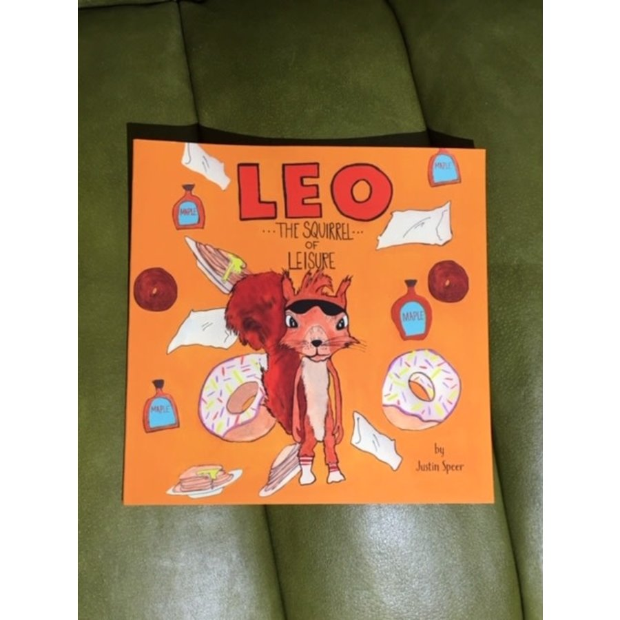 "Leo ""The Squirrel of Leisure"" Book"