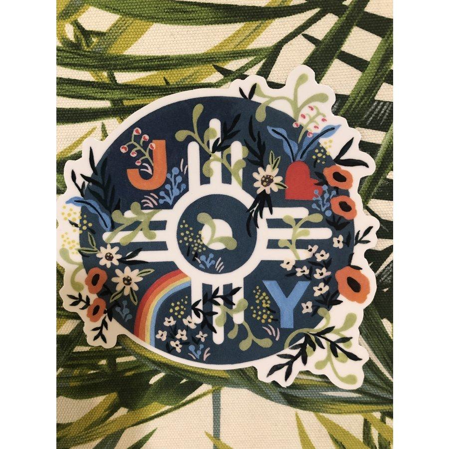 Eliasabeth Owen Joy Sticker