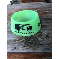VW Bus Collapsible Silicone Dog Bowl