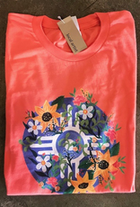 Elisabeth Owens Sunflower Floral Flag Tee