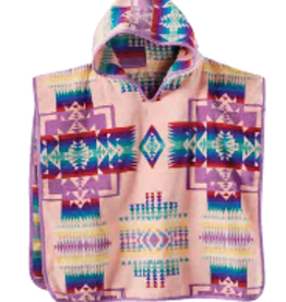 Pendleton Chief Joseph Pink Hooded Children's Towel